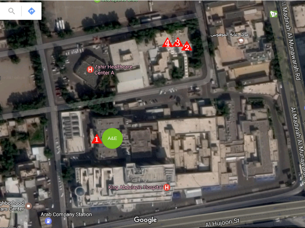 Makkah Dialysis Map