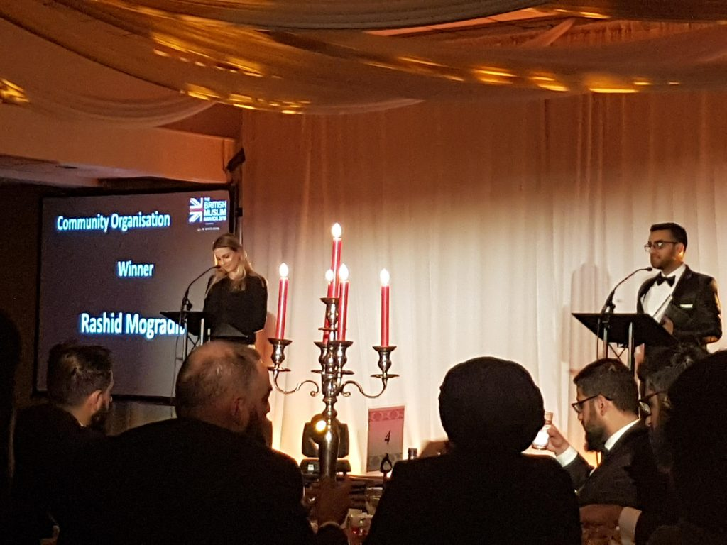 Dr Myriam François hosts the British Muslim Awards 2018