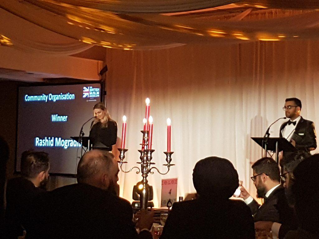 Dr Myriam François hosts the British Muslim Awards 2018