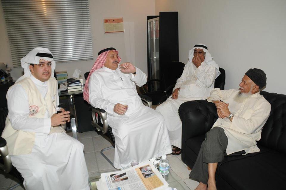 Lord Adam Patel during one of the British Hajj Delegation visits. Photo Credit: Mutawif Zaki Kamal